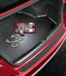 Килимок в багажник гумовий Optima