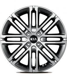 Легкосплавний колісний диск (кіт) 6.5Jx17; 205/45 R17 Rio 2017 5DR.